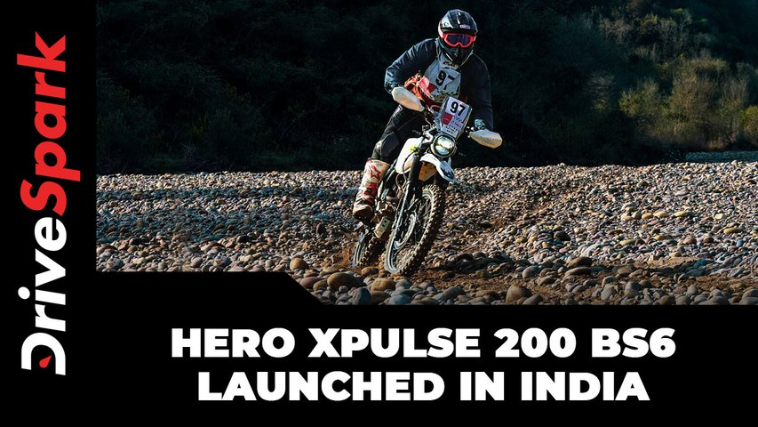 Hero Xpulse 200 BS6 Launched In India   Prices, Features, Specs & Other Updates