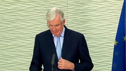 Micheal Barnier says a Brexit trade deal between UK and EU is 'at this point unlikely'
