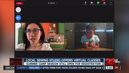 Local sewing studio goes virtual
