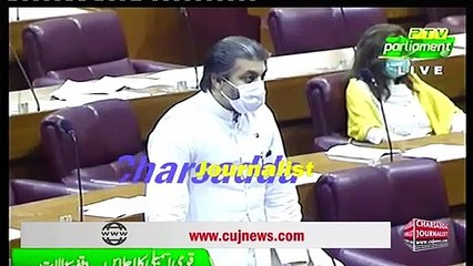 PPP MNA Naz Balouch Raise Big Question On MD PTV In National Assembly    Charsadda Journalist