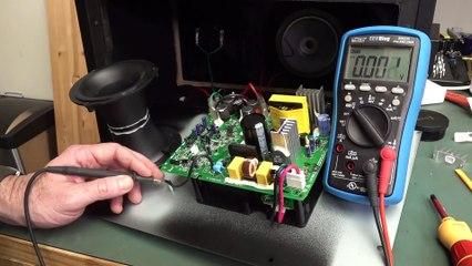 EEVblog #1322 - JBL LSR308 Studio Monitor Speaker REPAIR