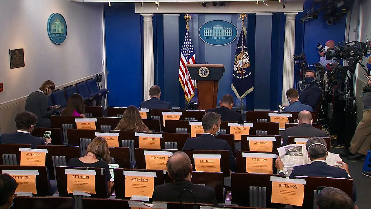 Trump holds news conference covering coronavirus, economy – 7_22_20