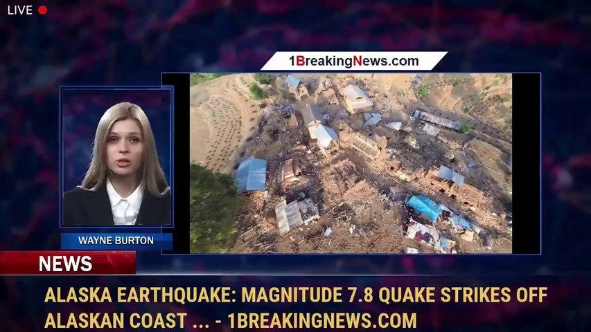Alaska earthquake: Magnitude 7.8 quake strikes off Alaskan coast ... - 1BreakingNews.com