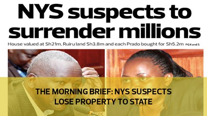 The Morning Brief: NYS suspects lose property to State