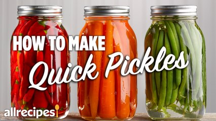 How to Make Quick Pickles at Home