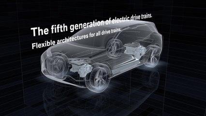 The BMW Gen5 electric drivetrain Animation presentation