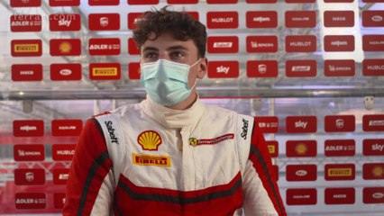 Ferrari Challenge Europe, Barcelona 2020 - Interview Thomas Neubauer