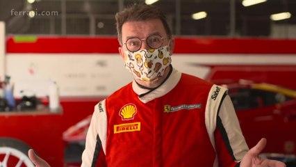 Ferrari Challenge Europe, Barcelona 2020 - Interview Alex Fox