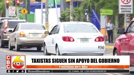 Taxistas siguen sin apoyo del gobierno