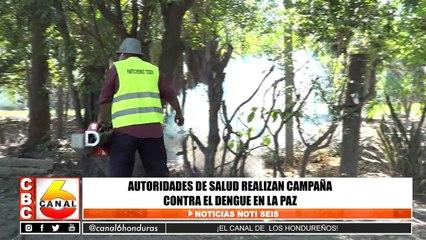 Autoridades de salud realizan campaña contra el dengue en La Paz