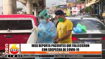 IHSS reporta pacientes que fallecieron con sospecha de Covid-19