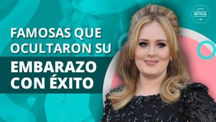 Famosas que supieron esconder su embarazo con éxito | Celebrities who knew how to hide their pregnancy successfully