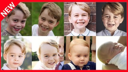 ✅  7 ans du prince George: ce petit détail qui intrigue sur sa photo officielle