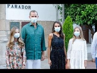 ✅  Letizia d'Espagne : ses filles Leonor et Sofia piquent son style avec une de ses marques préférée
