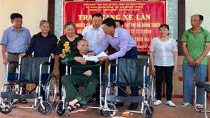 Hơn 1 triệu người khuyết tật đã được trợ cấp hàng tháng | VTC