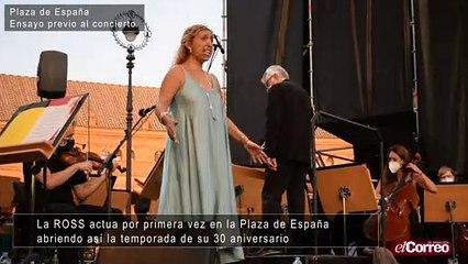 La ROSS inicia su temporada del 30 aniversario en la Plaza de España