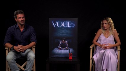 Entrevista a Rodolfo Sancho y Ana Fernández por la película 'Voces'