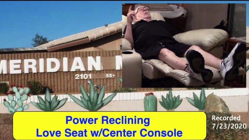 Power-Reclining Love Seat