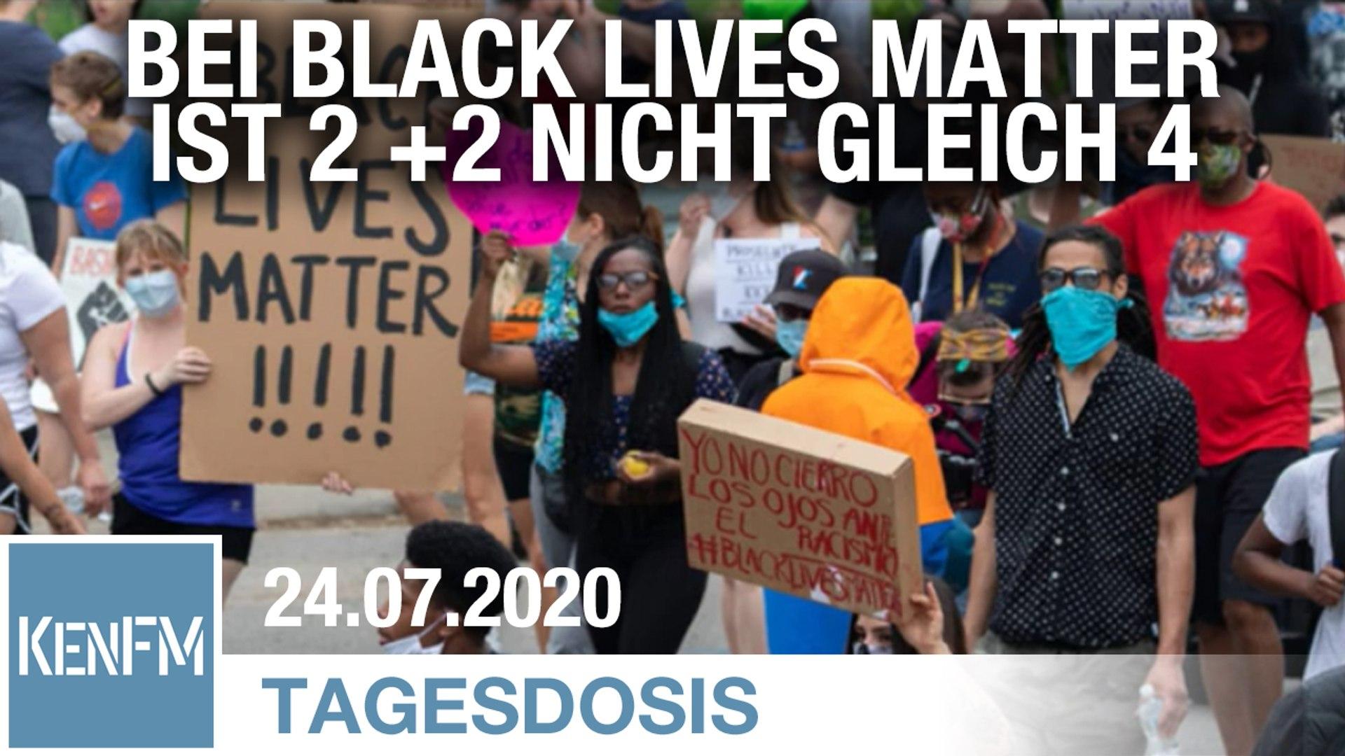 Bei Black Lives Matter ist 2 + 2 nicht gleich 4 | Von Rainer Rupp