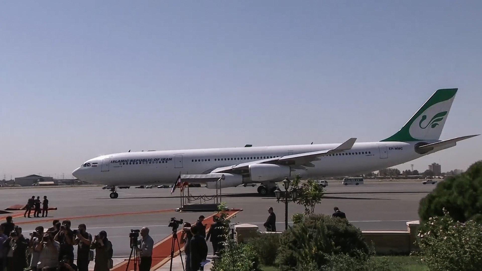 رعب في السماء.. مقاتلات أميركية تعترض طائرة ركاب إيرانية