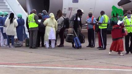 182 congolais bloqués en Afrique du Sud et au Maroc en raison de la Covid-19 regagnent le Congo