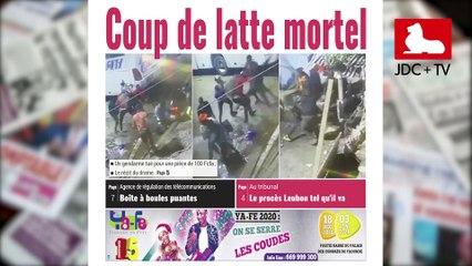 REVUE DE PRESSE CAMEROUNAISE DU 24 JUILLET 2020