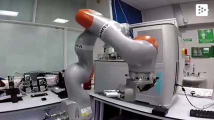 A newly invented robot creates a new catalyst