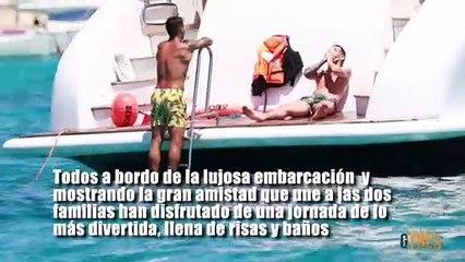 Leo Messi y Luis Suárez calientan motores en aguas de Ibiza