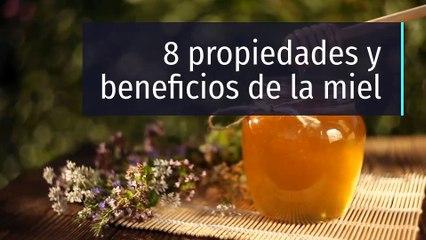 8 propiedades y beneficios de la miel