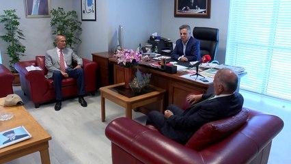 Bahri Şarlı ve Arif Tak'tan OLAY Medya'ya ziyaret