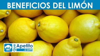 8 propiedades y beneficios del limón   QueApetito