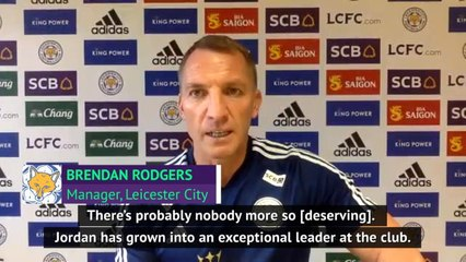 Nobody deserves FWA award more than Henderson - Rodgers