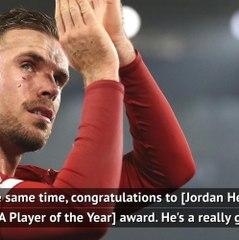 FOOTBALL: Premier League: Guardiola quick to congratulate Henderson
