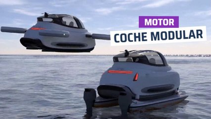 [CH] Linux, el coche modular que puede circular, volar o navegar en el mar