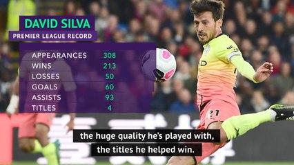 Man City will always be grateful to David Silva - Guardiola