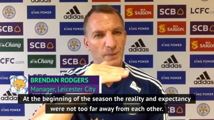 Rodgers impressed even if Leicester miss Champions League