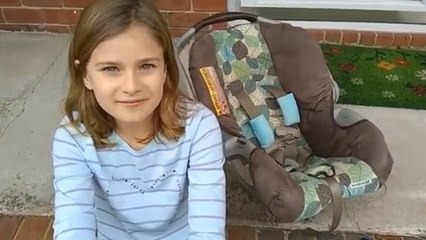 12-Year-Old Girl Invents A Car Seat That Can Save Young Lives