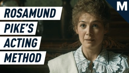 How Rosamund Pike mentally prepares for a role