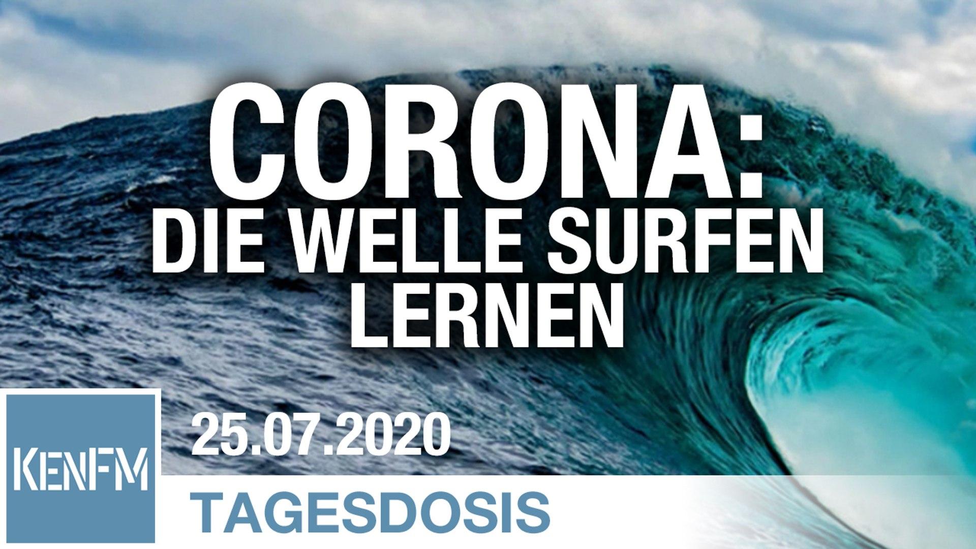 Corona: Die Welle surfen lernen | Von Christiane Borowy