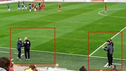 Frank Lampard tells Liverpool to 'F OFF' and Jurgen Klopp to 'SIT DOWN'