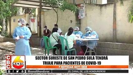 Sector sureste de San Pedro Sula tendrá triaje para pacientes Covid-19