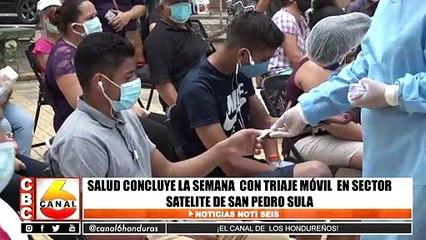 Salud concluye la semana con triaje móvil en sector Satélite de San Pedro Sula