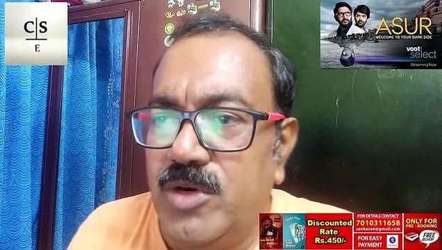 Asur | Hindi web series review |Arshad warsi |Voot