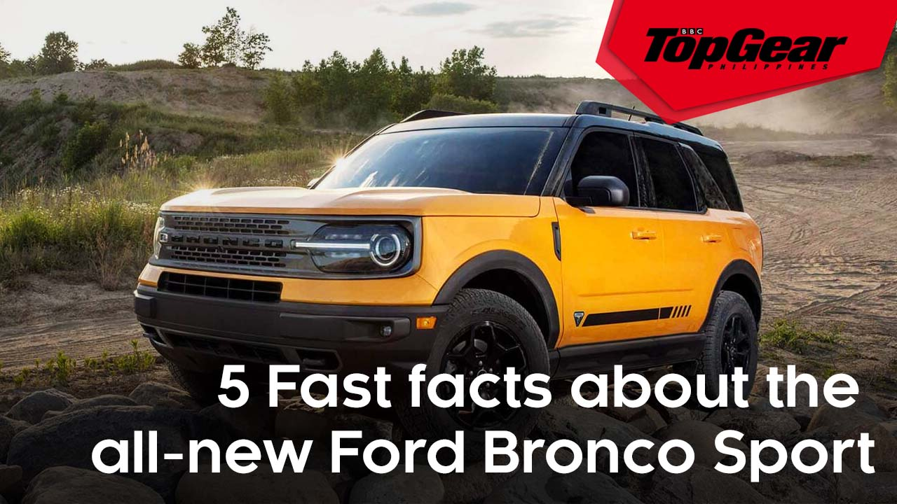 5 Fast facts about the all-new Ford Bronco Sport