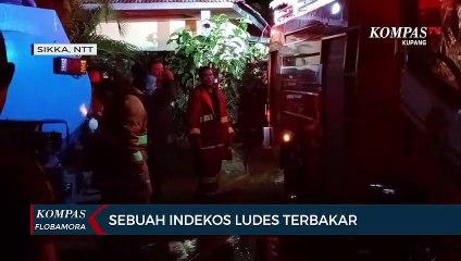Sebuah Indekos di Sikka Ludes Terbakar