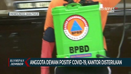 Anggota DPRD Positif Covid-19, Kantor Disterilkan