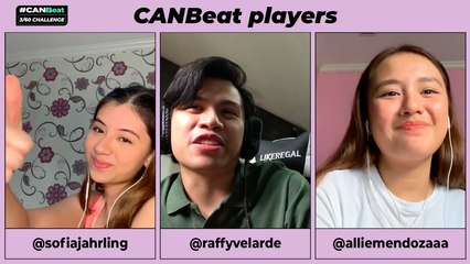 CanBeat 3:60 Challenge - Episode 1 - Feat. Candy Rookies Allie, Raffy, and Sofia