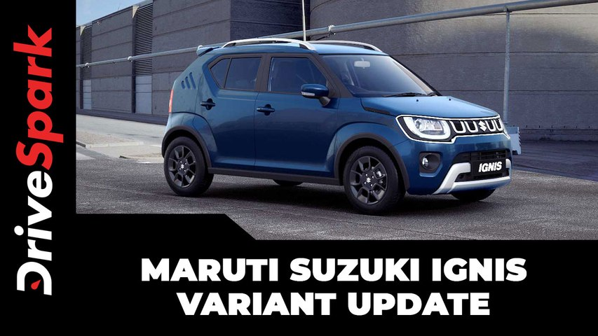 Maruti Suzuki Ignis Variant Update   New Features, Equipment, Prices & Other Changes