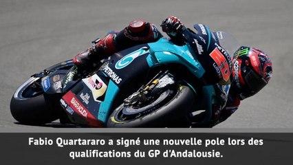 MotoGP - Encore une pole pour Quartararo !