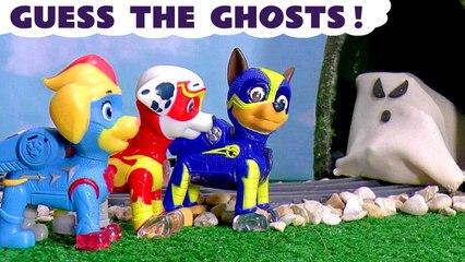 Paw Patrol Mighty Pups Ghosts Games with Peppa Pig and the Funny Funlings plus Thomas and Friends in these Full Episodes English Toy Stories for Kids
